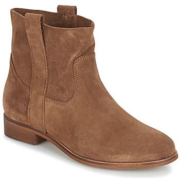 Shoes Women Mid boots André TITAINE Brown