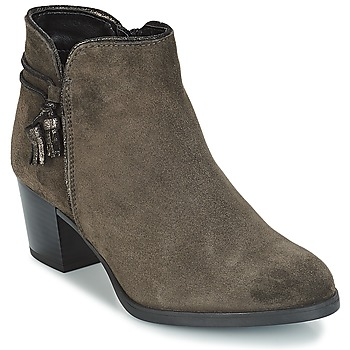 Shoes Women Ankle boots André MISTINGUETTE Grey