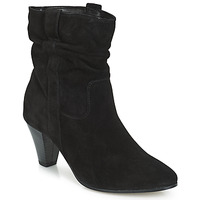 Shoes Women Mid boots André FANFAN Black