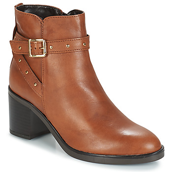 Shoes Women Ankle boots André FRENCHY Brown