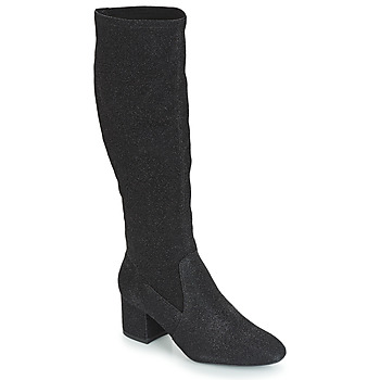 Shoes Women Boots André FARFELUE Black / Glitter