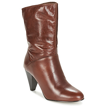 Shoes Women Boots André FEVER Brown