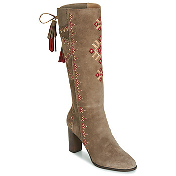 Shoes Women Boots André TATIANA Beige