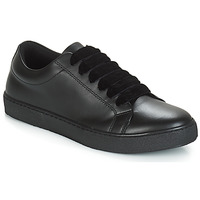Shoes Women Low top trainers André THI Black