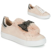 Shoes Women Low top trainers André TELAMONE Beige