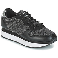 Shoes Women Low top trainers André TYPO Black / Silver