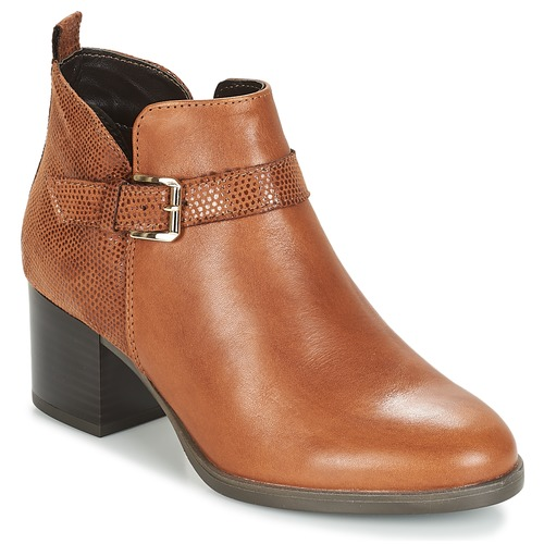 Shoes Women Mid boots André PATTY 3 Brown