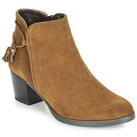 Shoes Women Ankle boots André MISTINGUETTE Brown