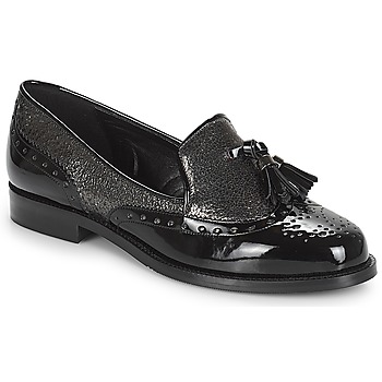 Shoes Women Loafers André PELICAN Black