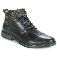 Shoes Men Mid boots André VERON Black