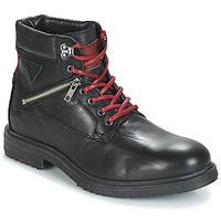 Shoes Men Mid boots André MORRO Black