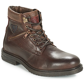 Shoes Men Mid boots André MORRO Brown