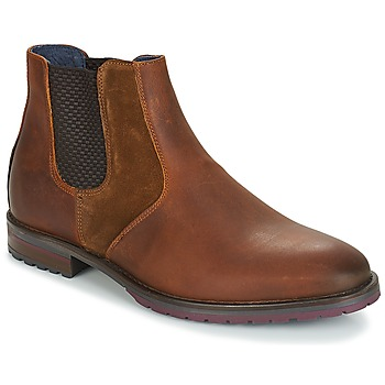 Shoes Men Mid boots André CLAUDIO Brown