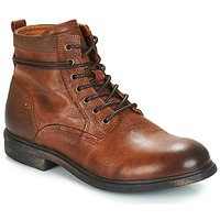 Shoes Men Mid boots André TREVOR Brown