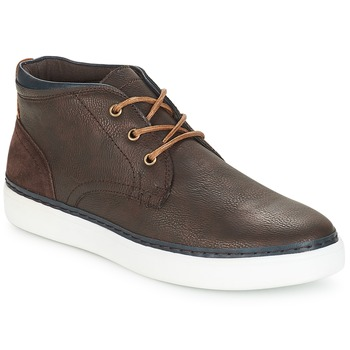 Shoes Men High top trainers André PAPIER Brown