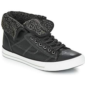 Shoes Men High top trainers André CONDOR Black