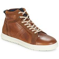 Shoes Men High top trainers André RANDONNEUR Brown