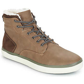 Shoes Men High top trainers André INUIT Brown