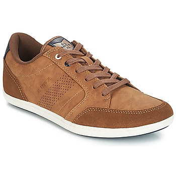 Shoes Men Low top trainers André MYCONOS Brown
