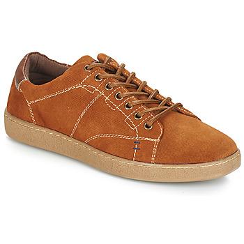 Shoes Men Low top trainers André LENNO Brown