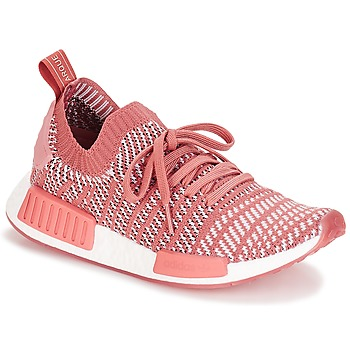 Shoes Women Low top trainers adidas Originals NMD R1 STLT PK W Pink