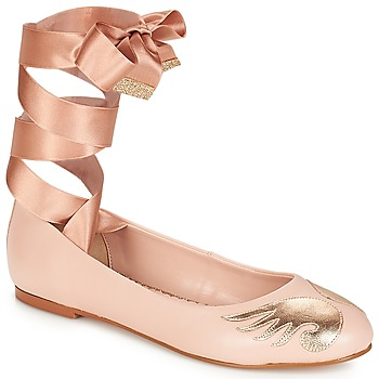 Shoes Women Ballerinas André ANGELINE Pink