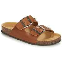 Shoes Women Mules André TREKKING Brown