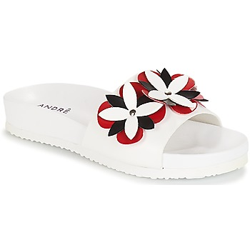 Shoes Women Sliders André GARDENIA White
