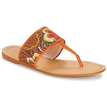 Shoes Women Flip flops André JERSEY Multicoloured