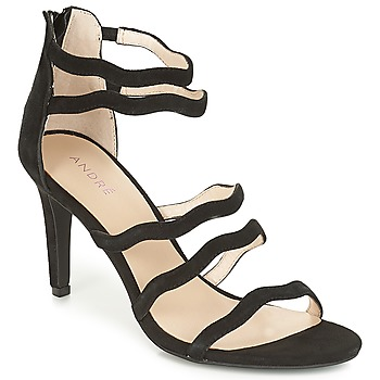 Shoes Women Sandals André POULOUPIDOU Black