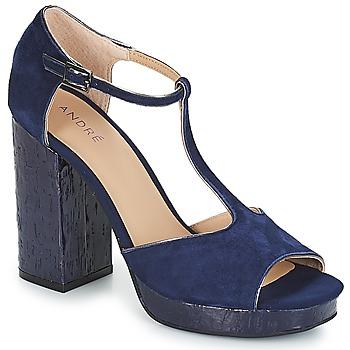 Shoes Women Sandals André TORRIDE Marine