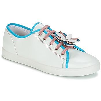 Shoes Women Low top trainers André GUIMAUVE Green