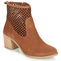 Shoes Women Mid boots André TOTEM Camel