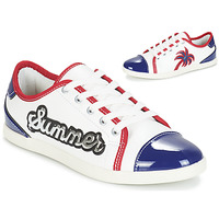 Shoes Women Low top trainers André LIMONADE White
