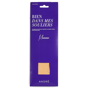 Accessorie Accessories André SEMELLE CUIR Beige