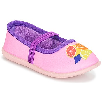 Shoes Girl Ballerinas André CITRONNADE Pink