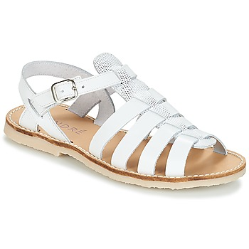 Shoes Girl Sandals André CANDIE White