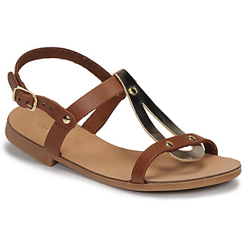 Shoes Girl Sandals André TOUFOU E Camel
