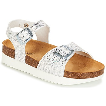 Shoes Girl Sandals André LAURE Silver