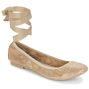 Shoes Women Ballerinas André ACTEE Taupe