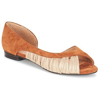 Shoes Women Sandals André PIPA Camel