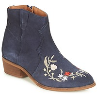 Shoes Women Mid boots André WEST Marine