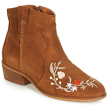 Shoes Women Mid boots André WEST Camel