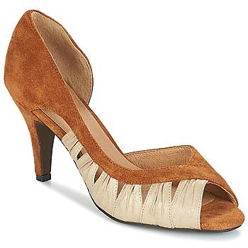 Shoes Women Court shoes André PUNGI Camel