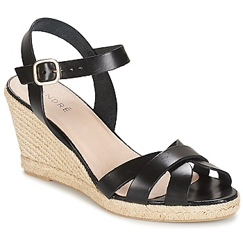 Shoes Women Sandals André QUIBERON Black