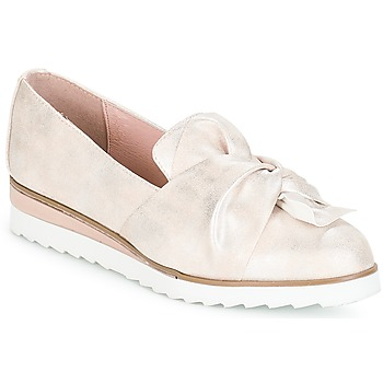 Shoes Women Loafers André AUBEPINE Silver