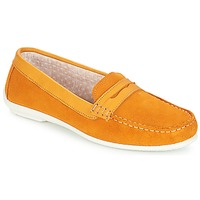 Shoes Women Loafers André FRIOULA Yellow