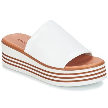 Shoes Women Sandals André LARRY White