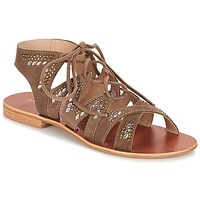 Shoes Women Sandals André MAUPITI Brown