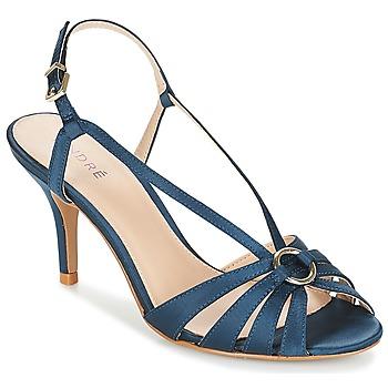 Shoes Women Sandals André MIRABELLE Blue